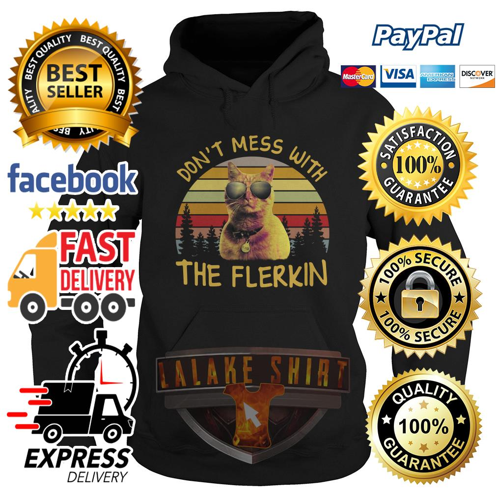 Captain Marvel don't mess with the Flerkin vintage Hoodie