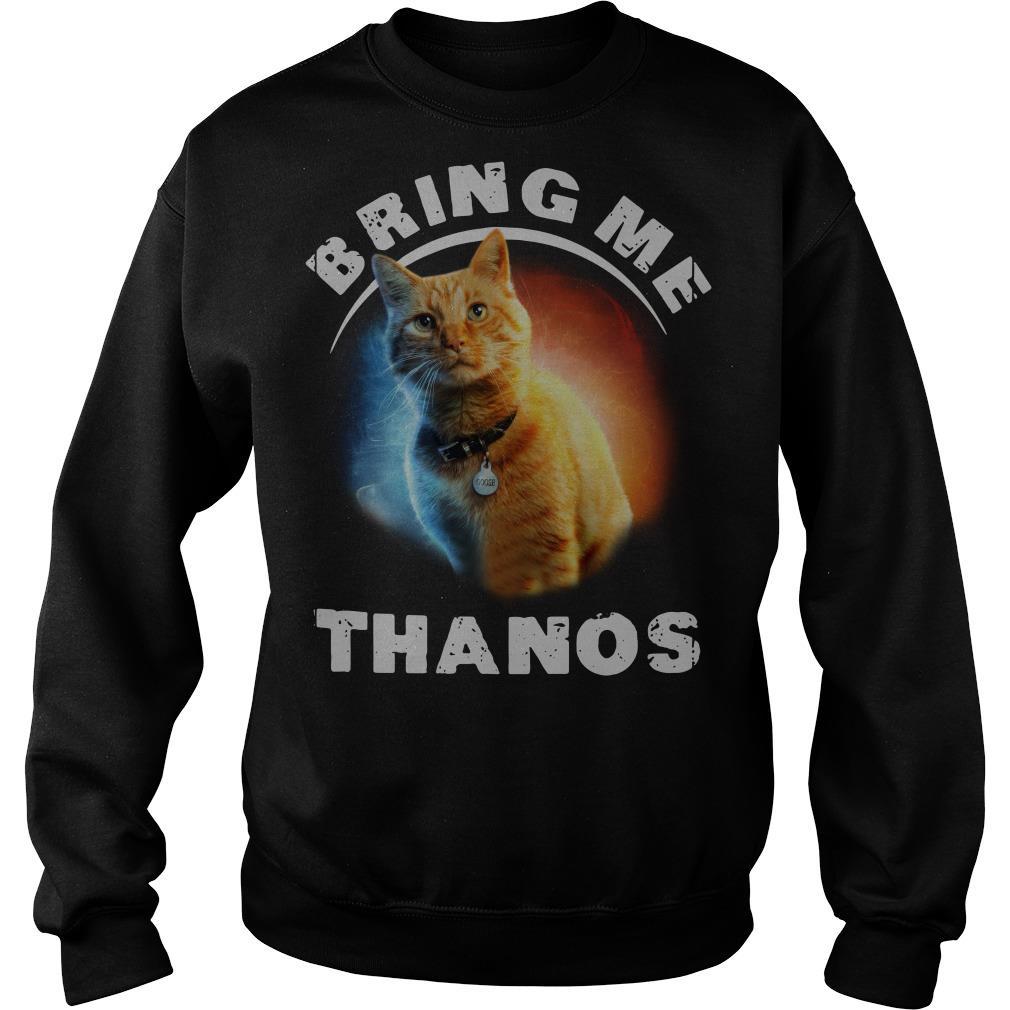Cat Bring me thanos Sweater