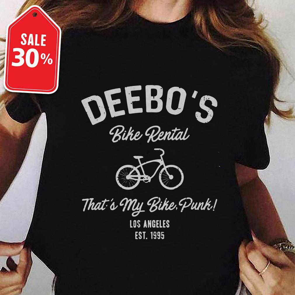 Deebo's bike rental that's my bike punk Los Angeles EST. 1995 shirt