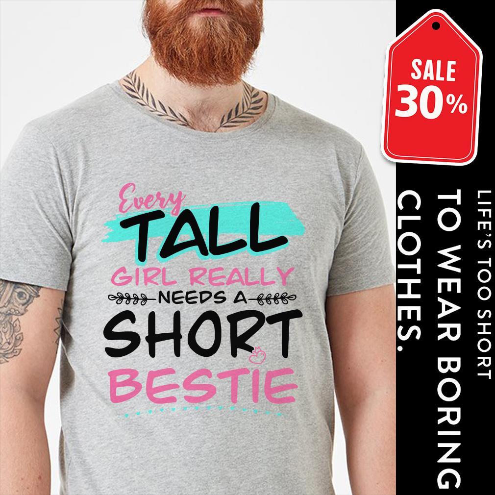 Every tall girl Really needs a short bestie shirt