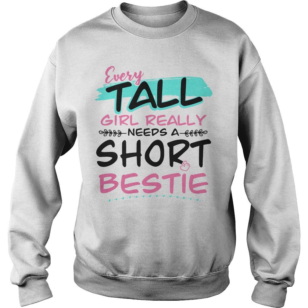 Every tall girl Really needs a short bestie Sweater