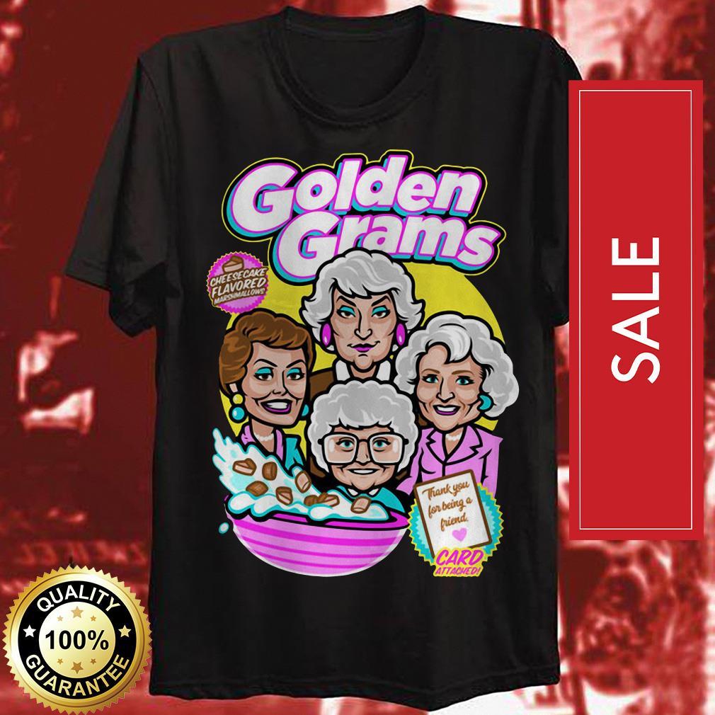 Golden Grams cheesecake flavored shirt