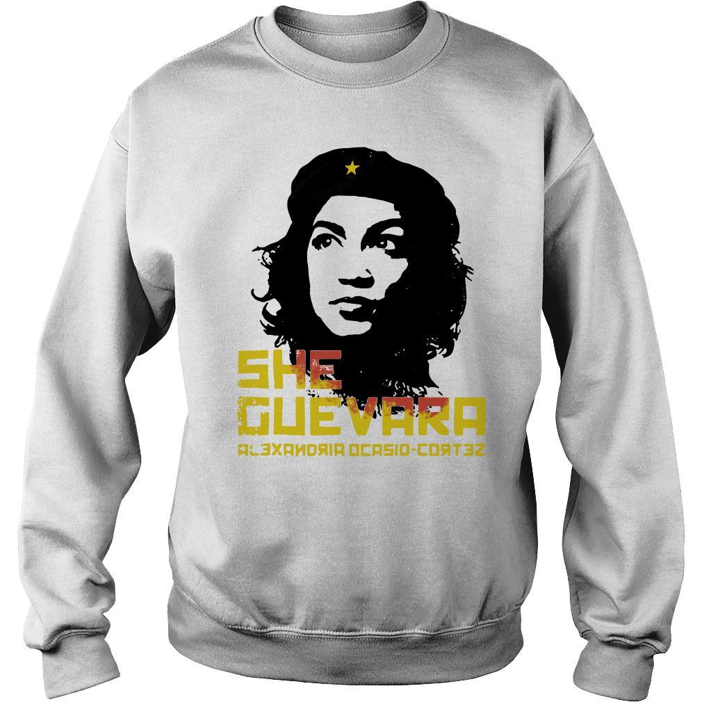 She Guevara Alexandria Ocasio-Cortez Sweater