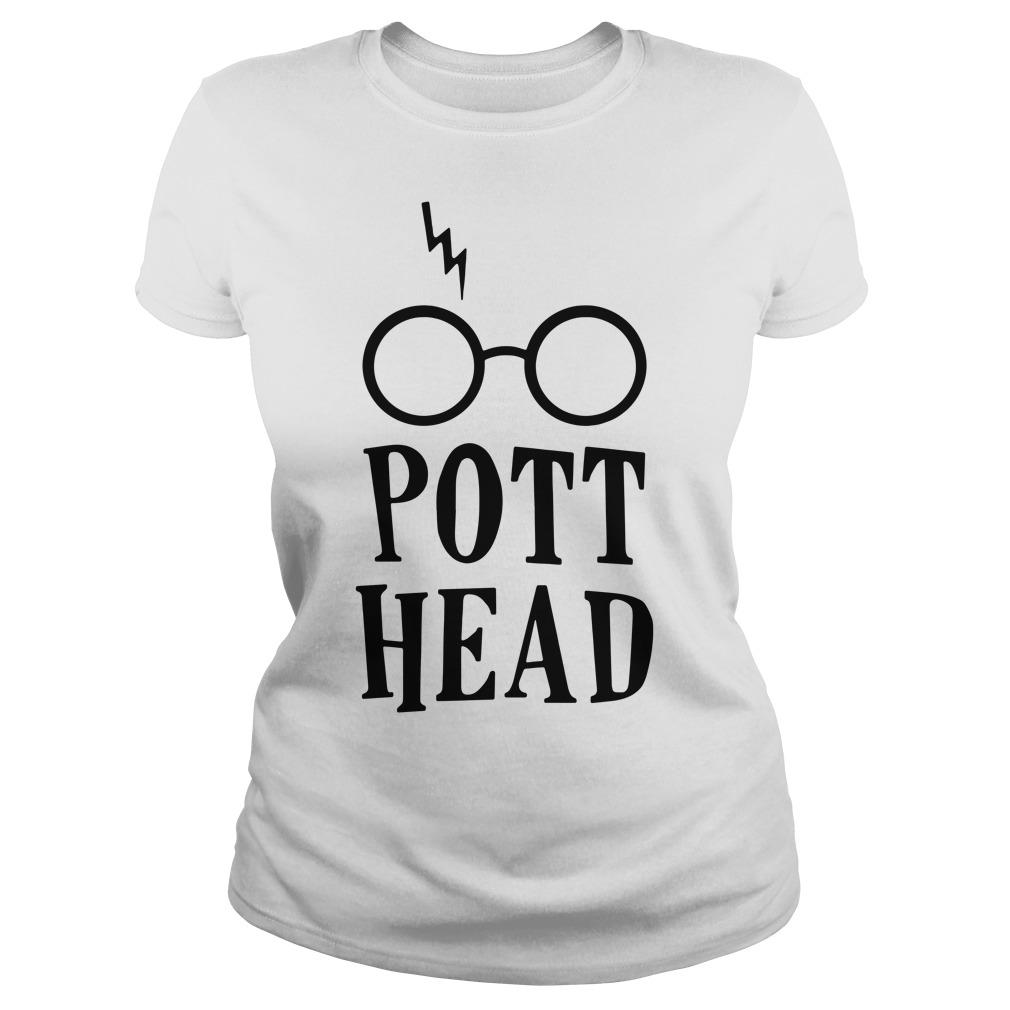 Harry Potter pott head Ladies tee