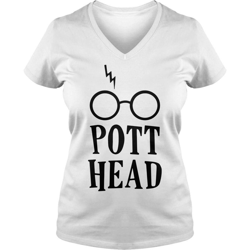 Harry Potter pott head V-neck t-shirt