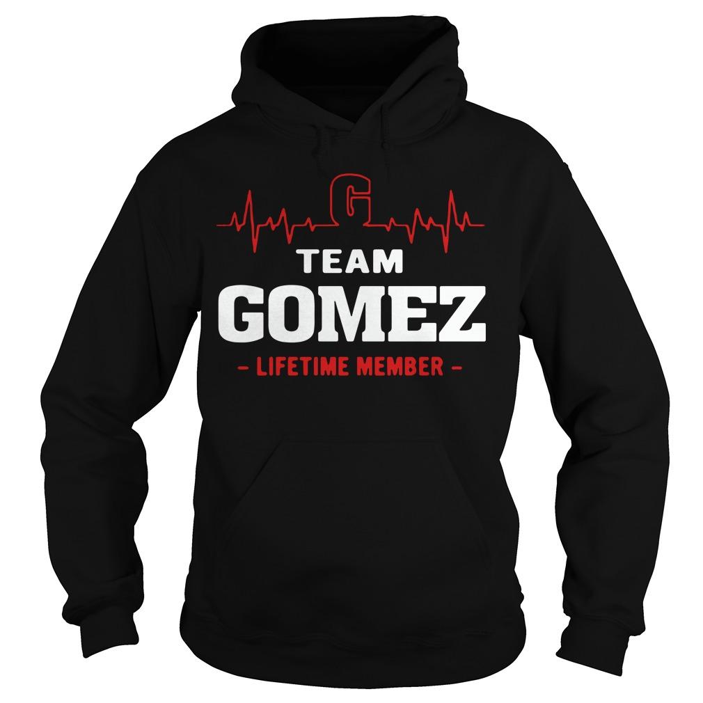 Heartbeat team Gomez lifetime member Hoodie