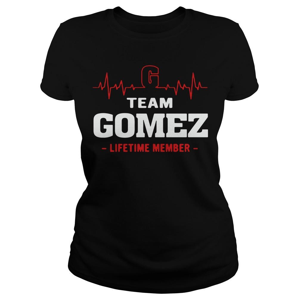Heartbeat team Gomez lifetime member Ladies tee
