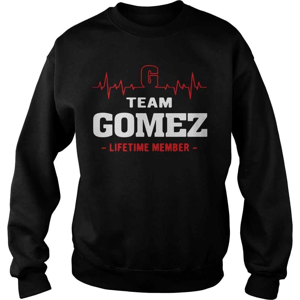 Heartbeat team Gomez lifetime member Sweater