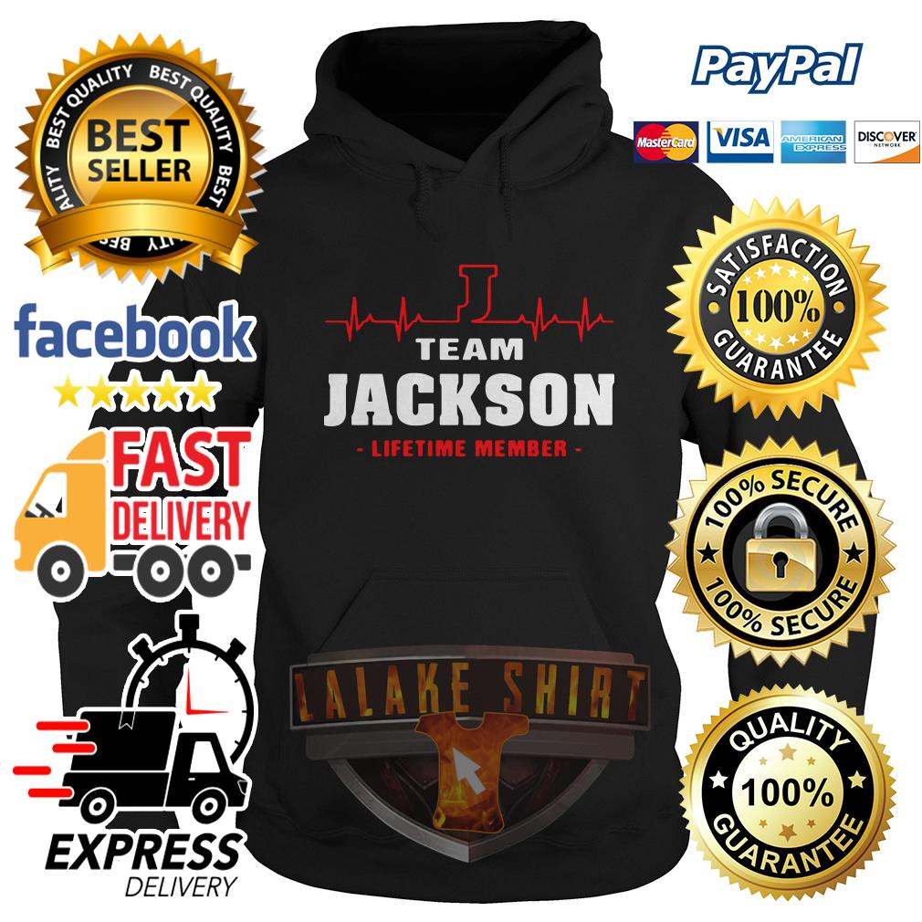Heartbeat team Jackson lifetime member Hoodie