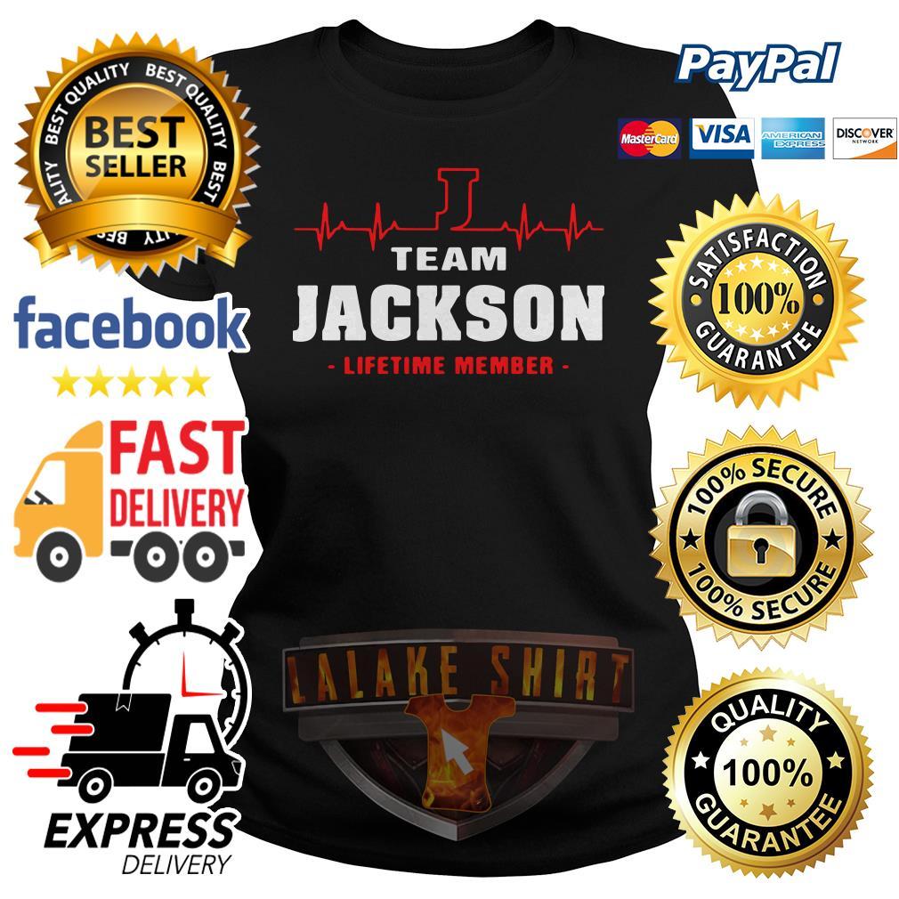 Heartbeat team Jackson lifetime member Ladies tee