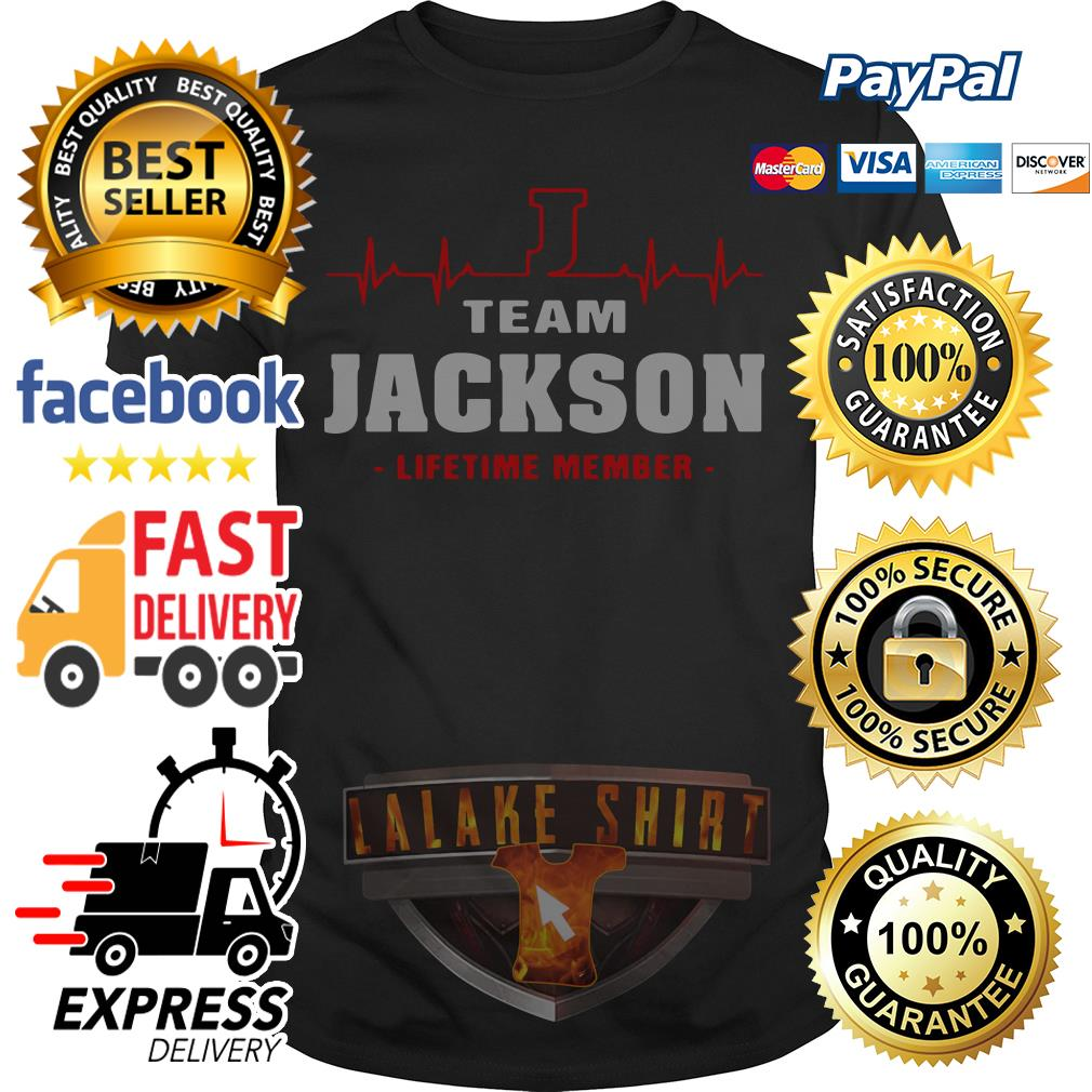 Heartbeat team Jackson lifetime member shirt