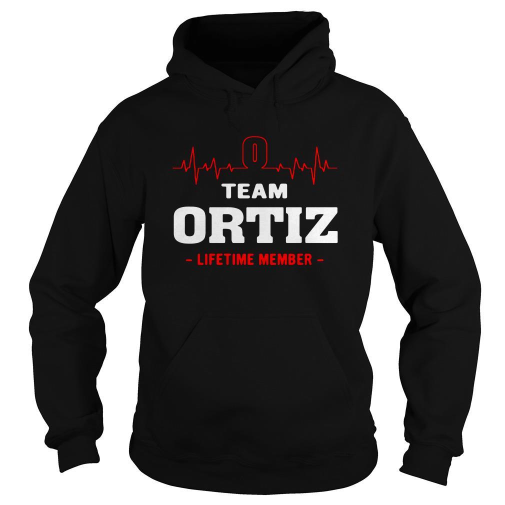Heartbeat team Ortiz lifetime member Hoodie