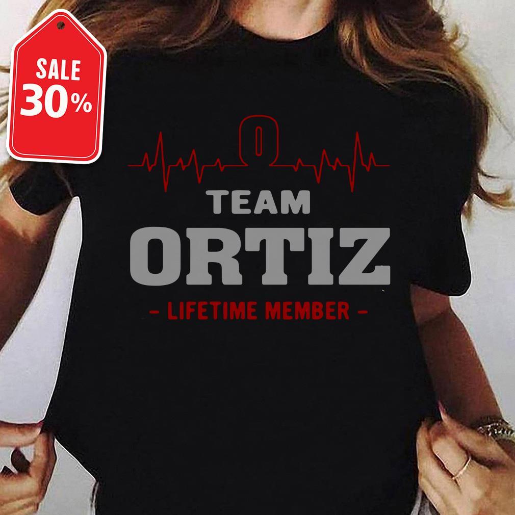 Heartbeat team Ortiz lifetime member shirt