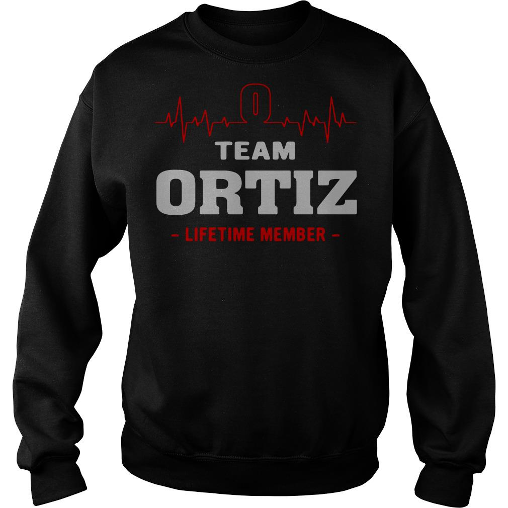 Heartbeat team Ortiz lifetime member Sweater
