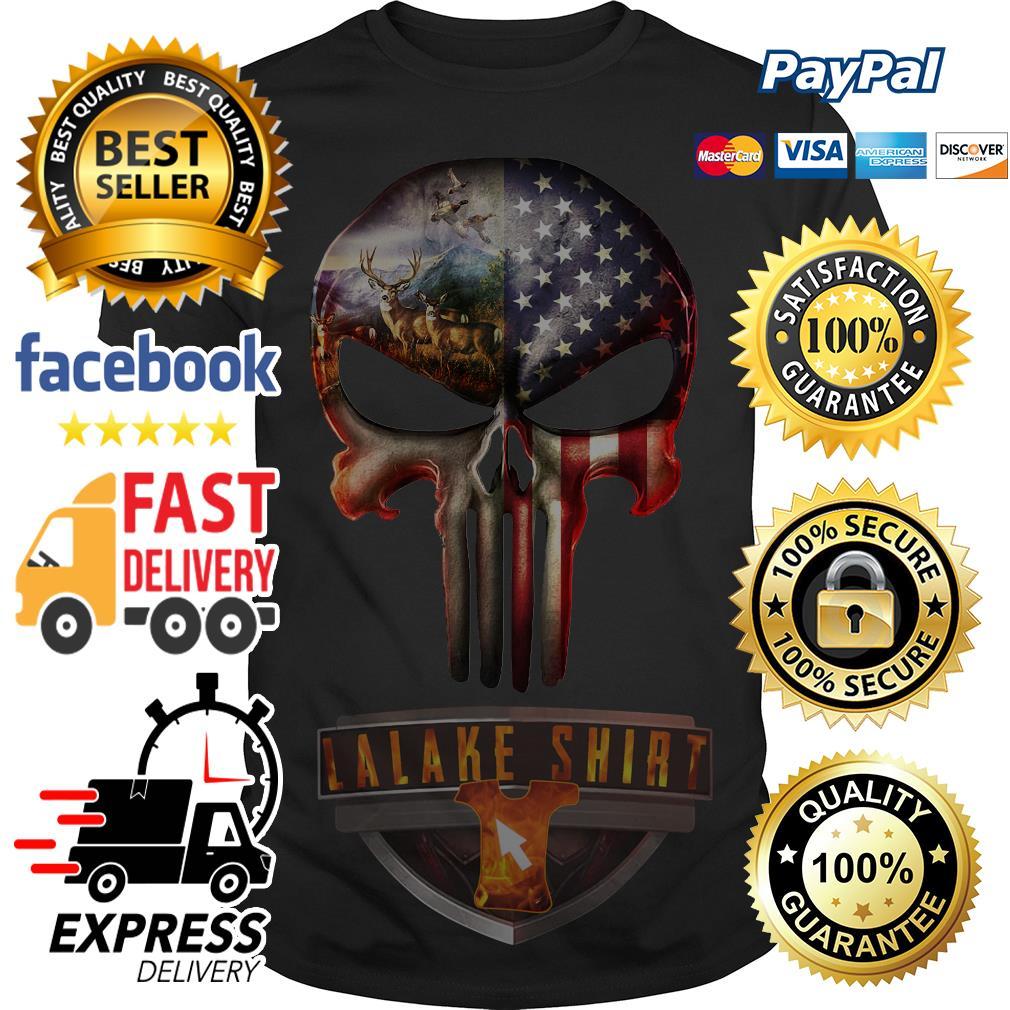 Hunter And America Punisher shirt