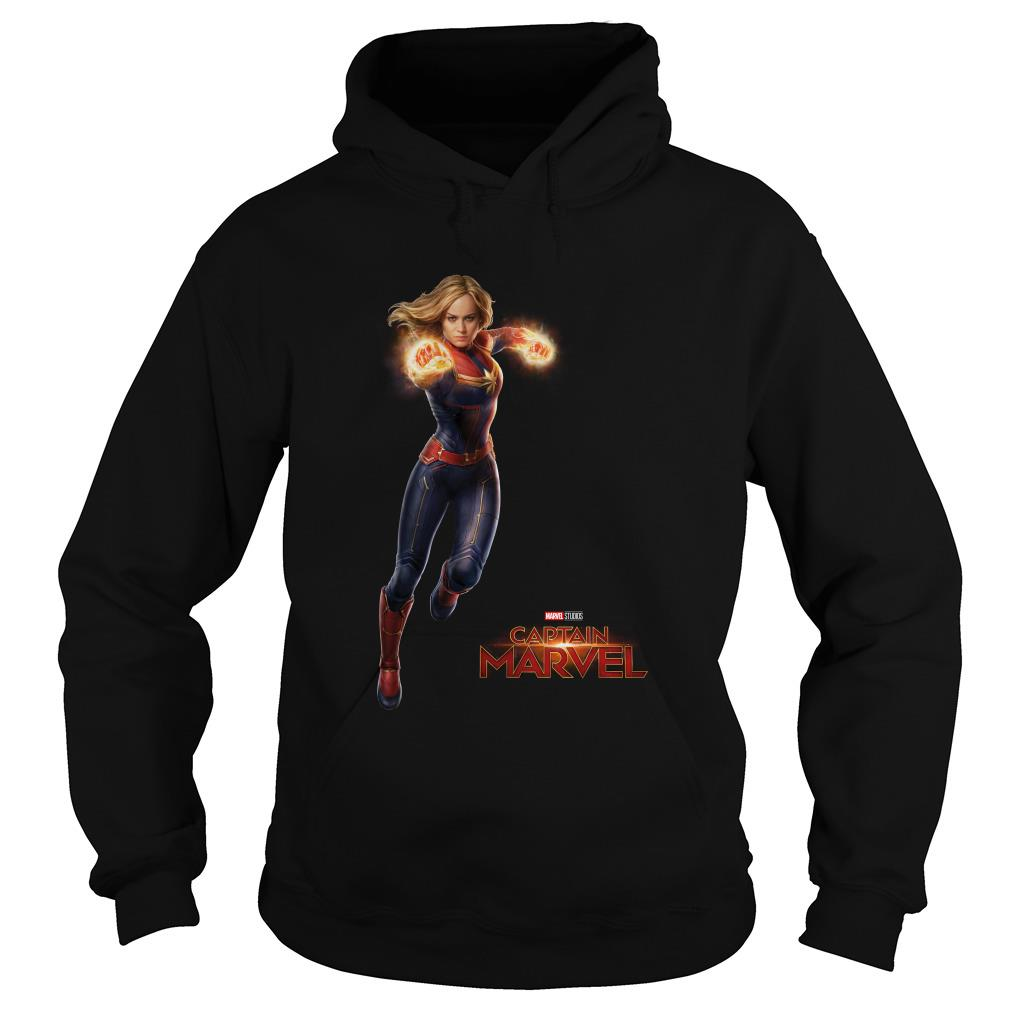 New Captain Marvel Movie Brie Larson Avengers Hoodie