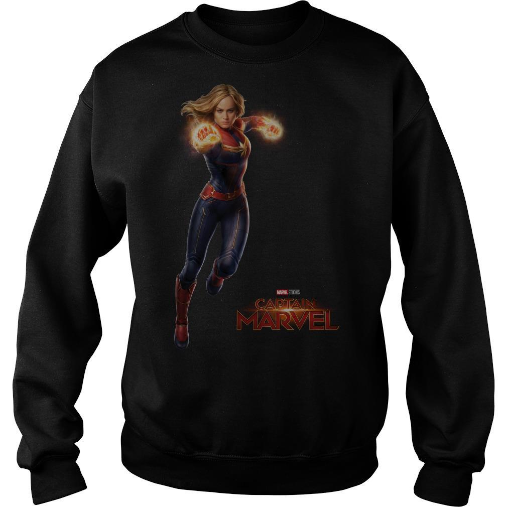 New Captain Marvel Movie Brie Larson Avengers Sweater