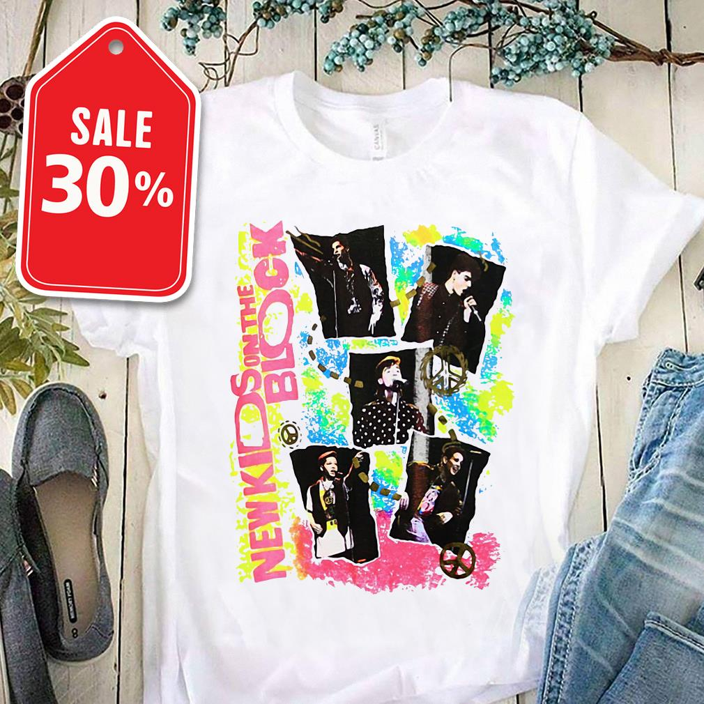 New kids on the block Promo shirt