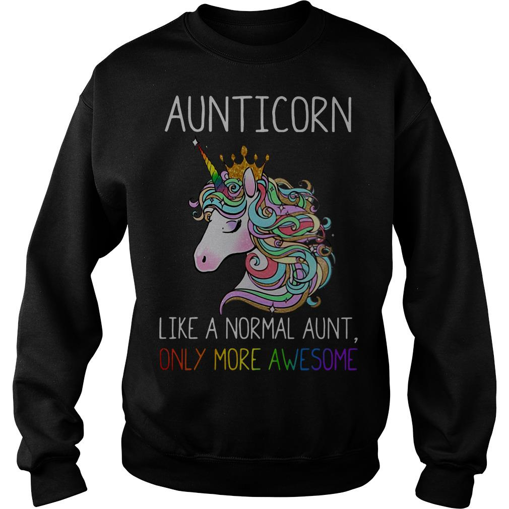 Official Aunticorn like a normal aunt only more awesome Sweater