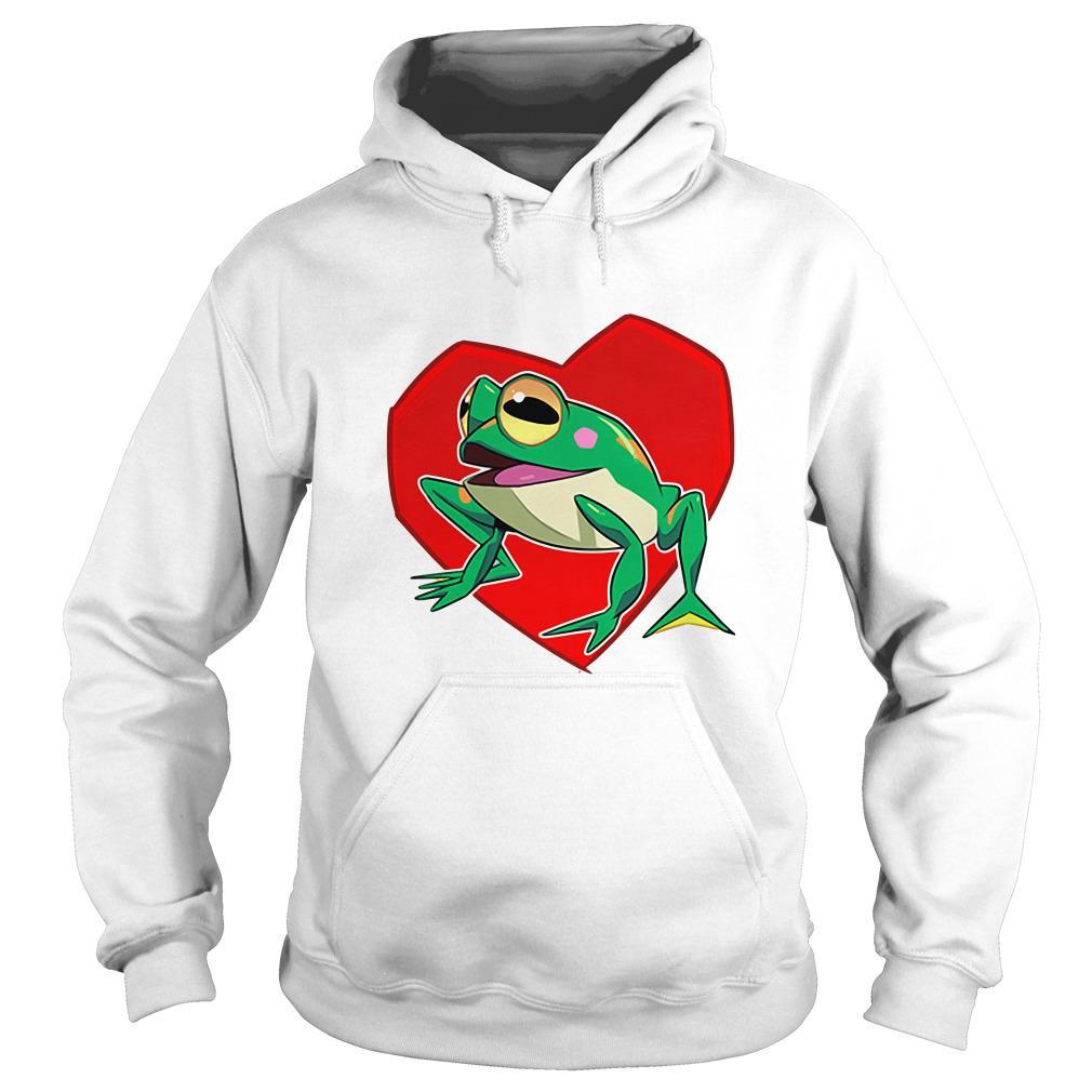 Official frog heart Hoodie