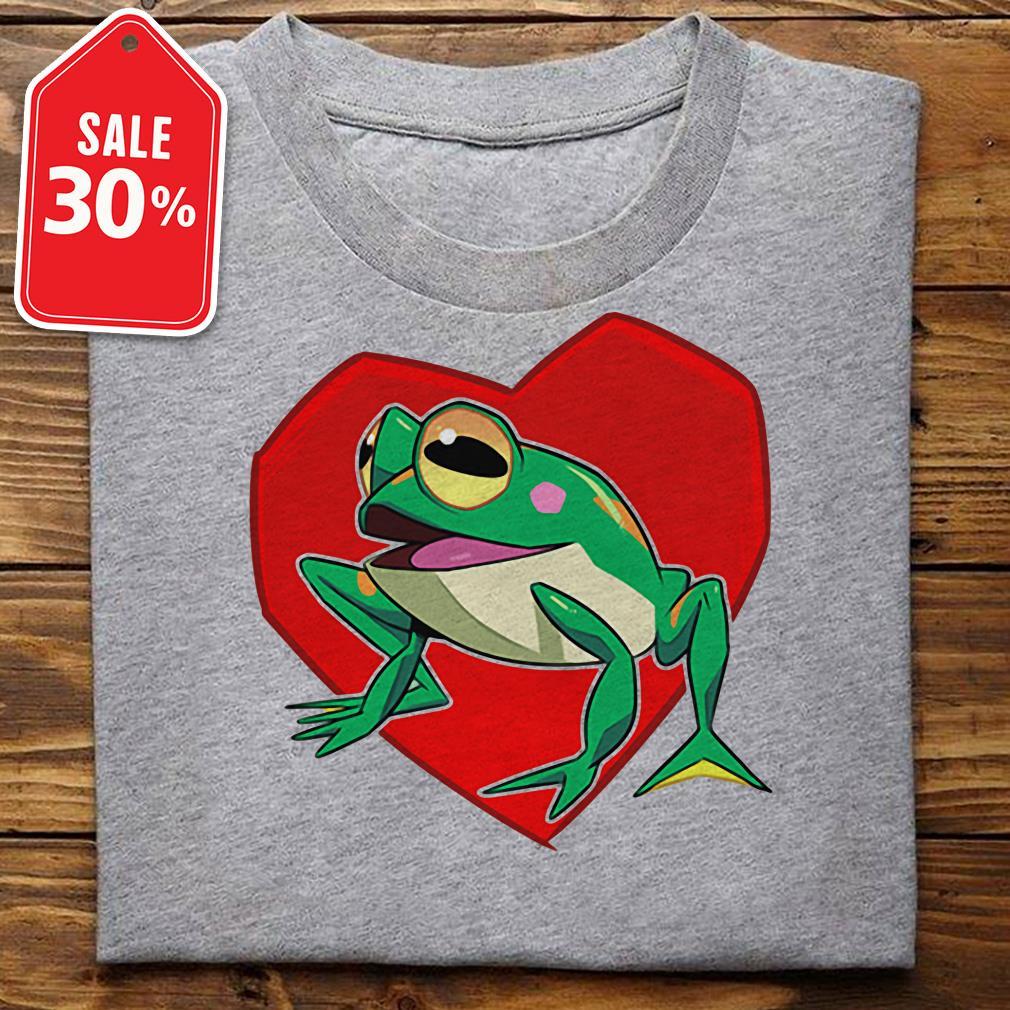 Official frog heart shirt