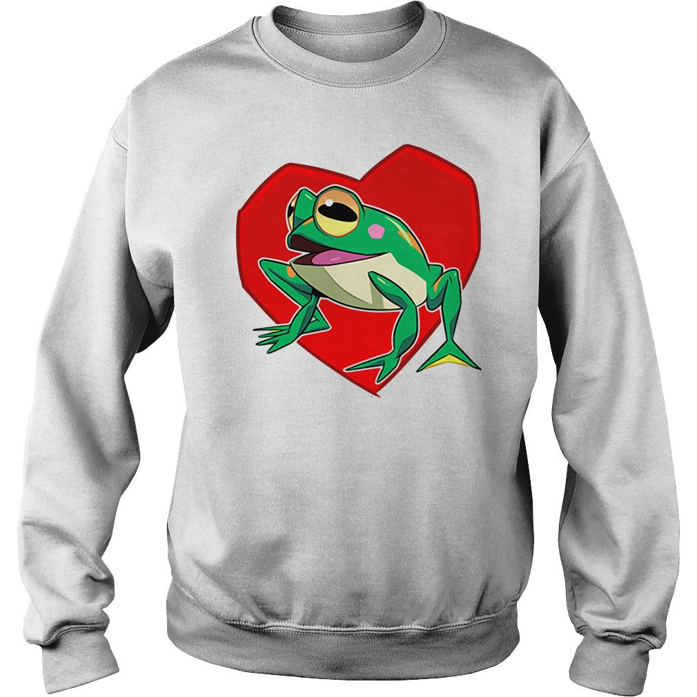 Official frog heart Sweater