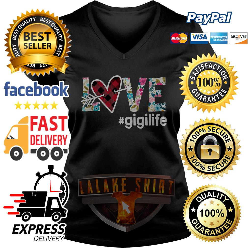 Official Love gigilife V-neck t-shirt