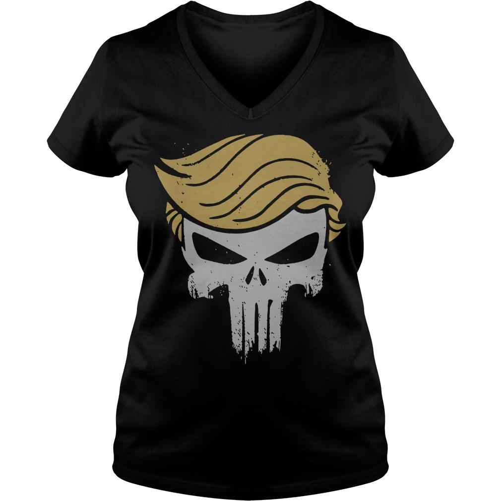 Official Punisher Trump V-neck t-shirt