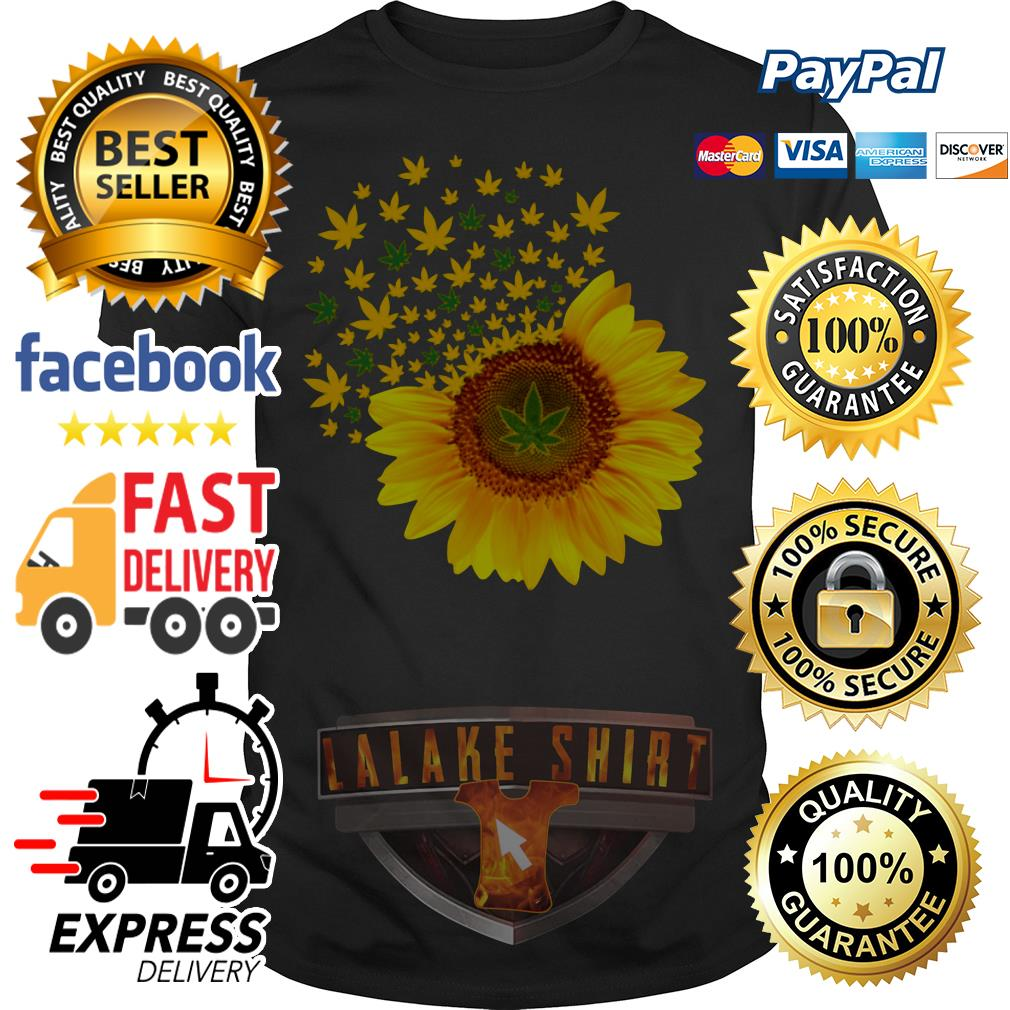 Official Sunflower weed shirt