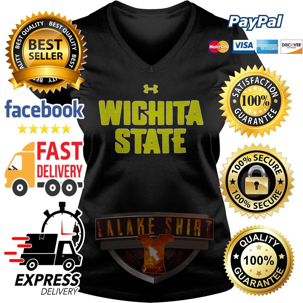 Official Wichita state V-neck t-shirt