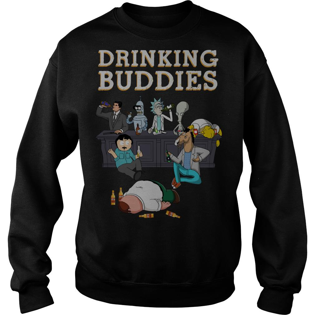 Rick and Morty Drinking buddies Sweater