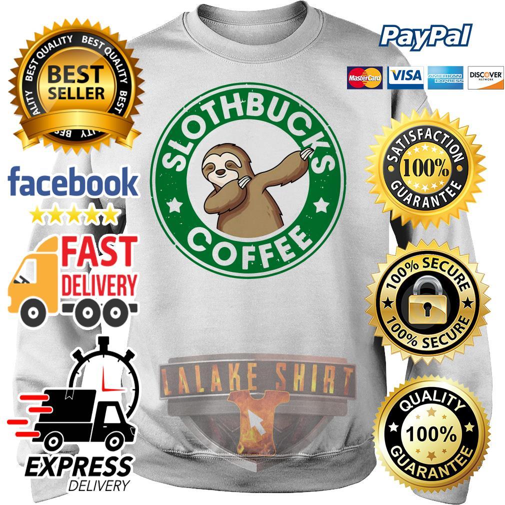 Starbucks Sloth bucks coffee Sweater