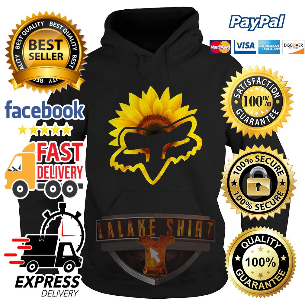 Sunflower Fox Racing Hoodie