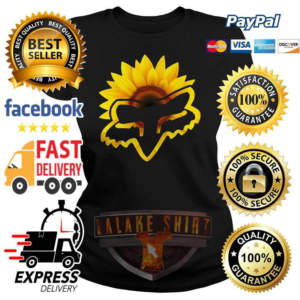 Sunflower Fox Racing Ladies tee