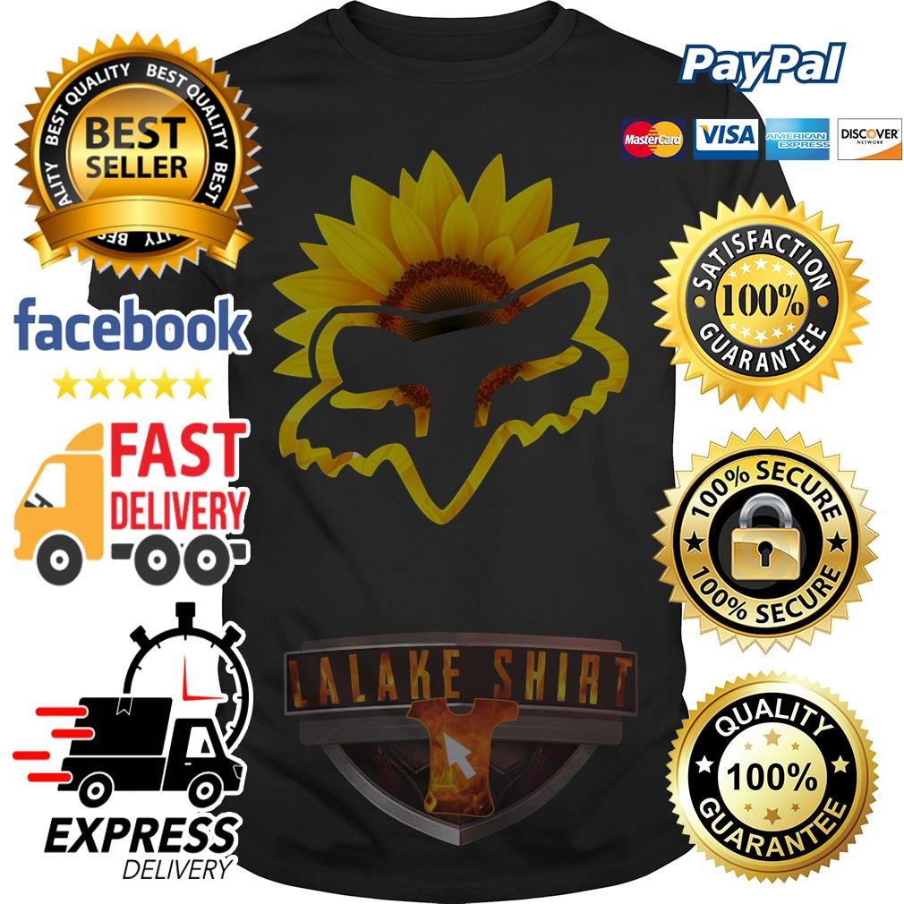 Sunflower Fox Racing shirt