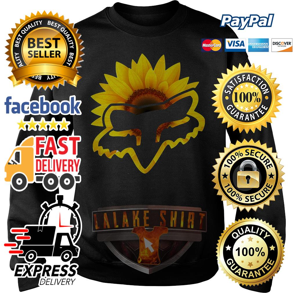 Sunflower Fox Racing Sweater