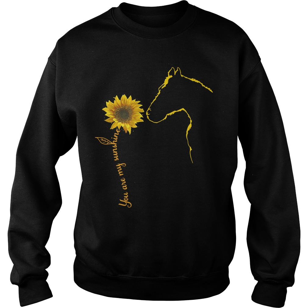 Sunflower and Horse You are my sunshine Sweater