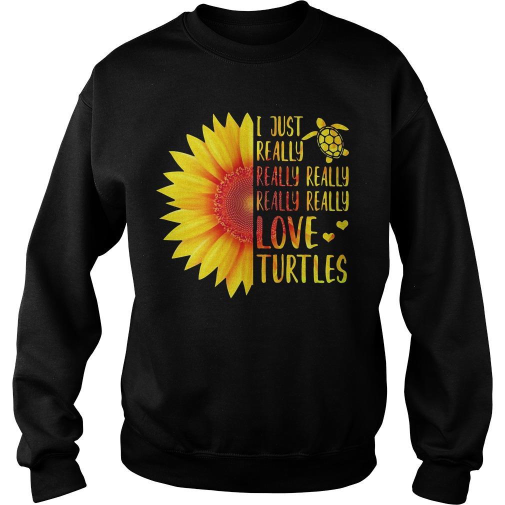 Sunflower I just really really really really really love Turtles Sweater