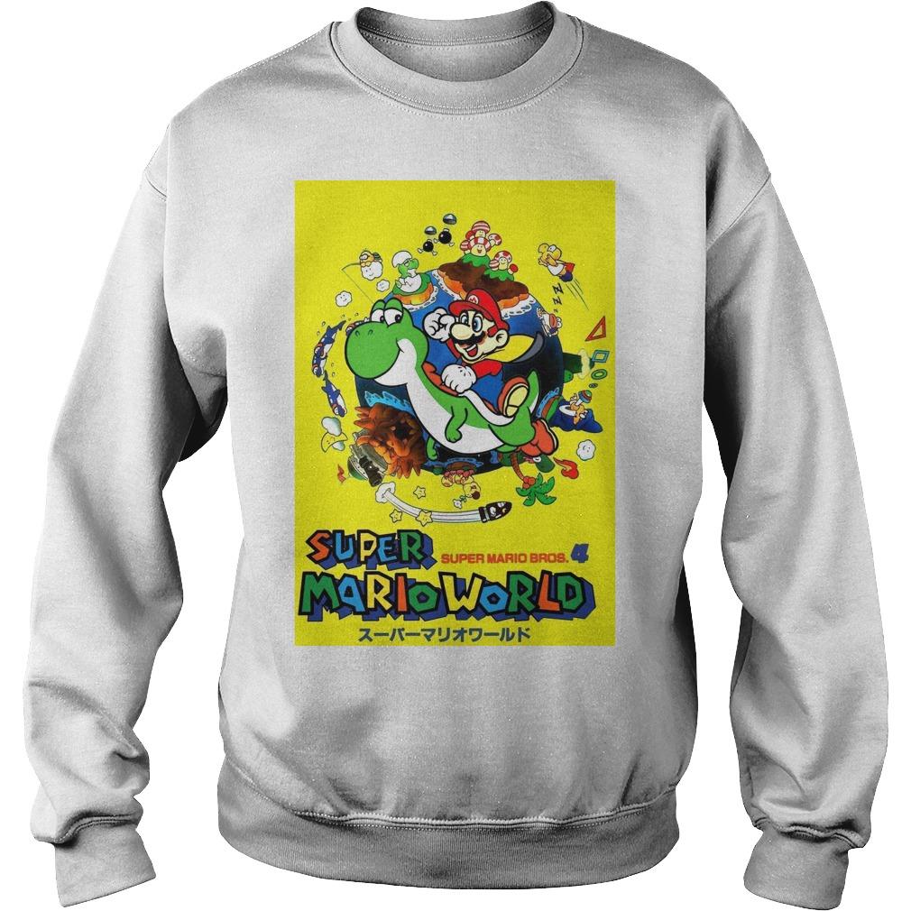 Super Mario world super Mario bros 4 Sweater