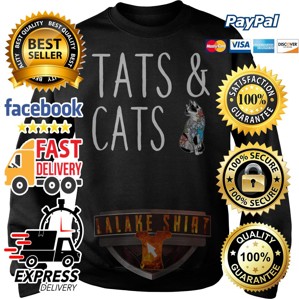 Tats and cats Sweater