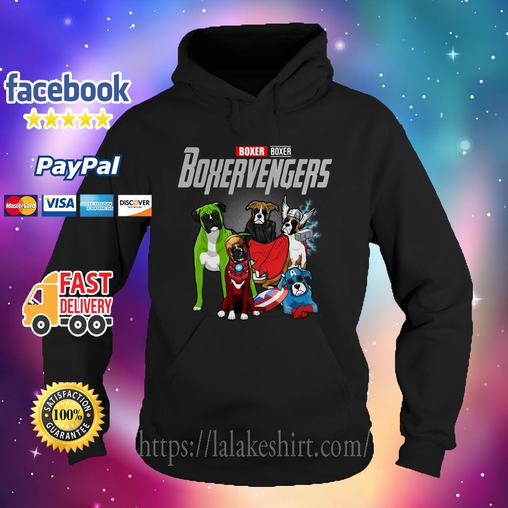 Boxer Boxer Boxervengers Avenger Hoodie