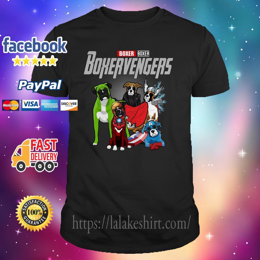 Boxer Boxer Boxervengers Avenger shirt