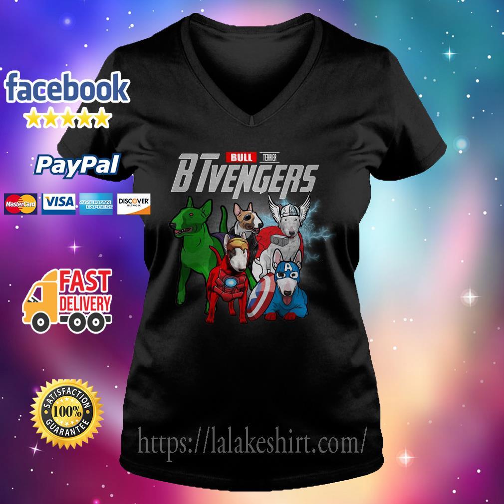 Bull Terrier Btvengers V-neck t-shirt