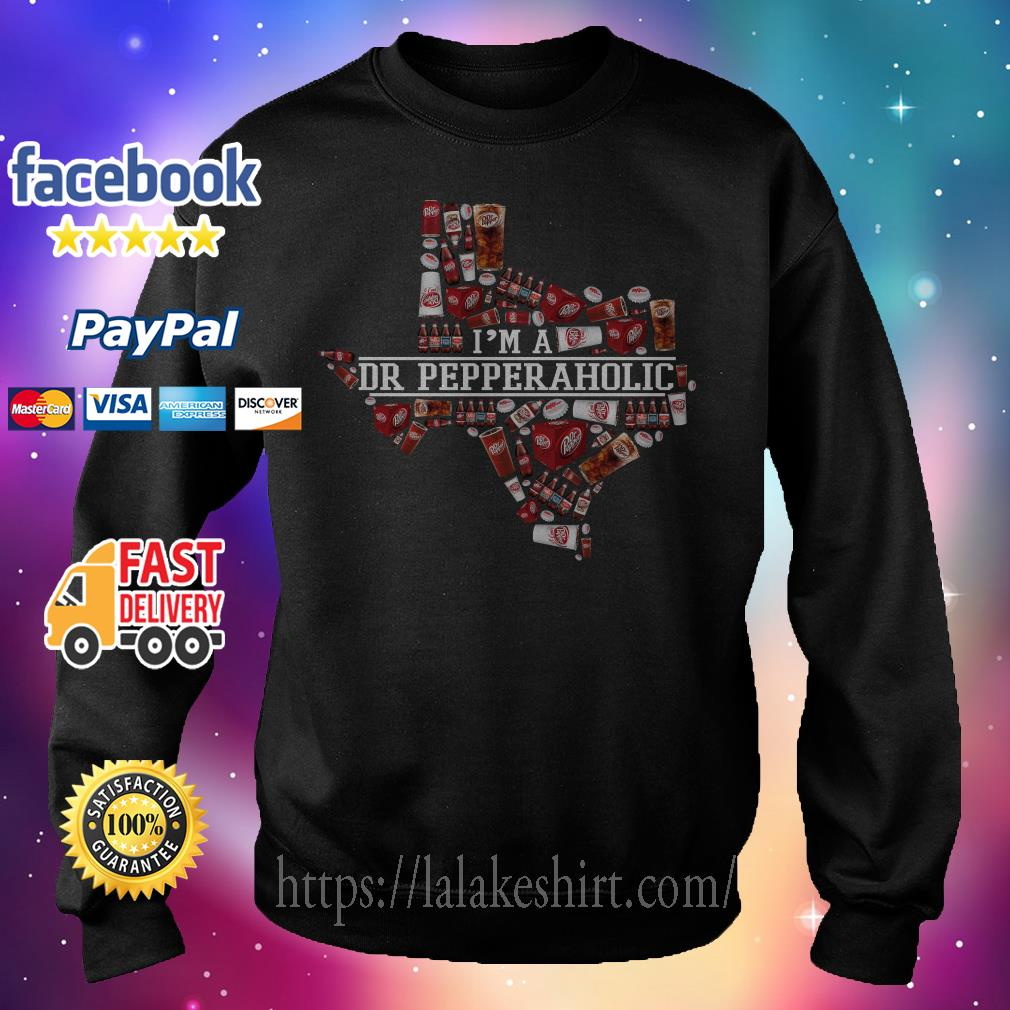 I'm a Dr Pepperaholic Texas Sweater