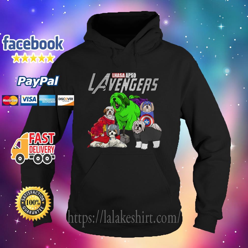 Lhasa Apso Lavengers Avenger Hoodie