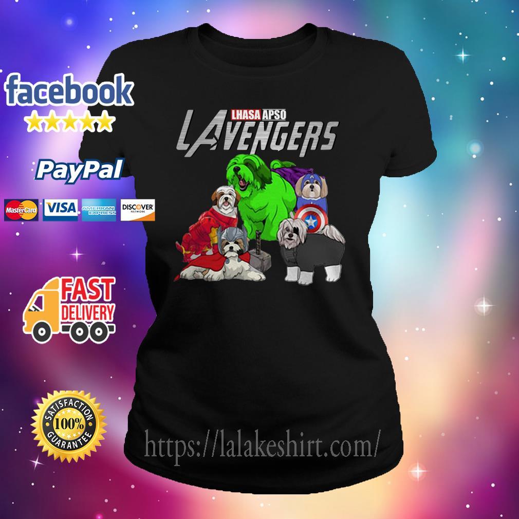 Lhasa Apso Lavengers Avenger Ladies tee