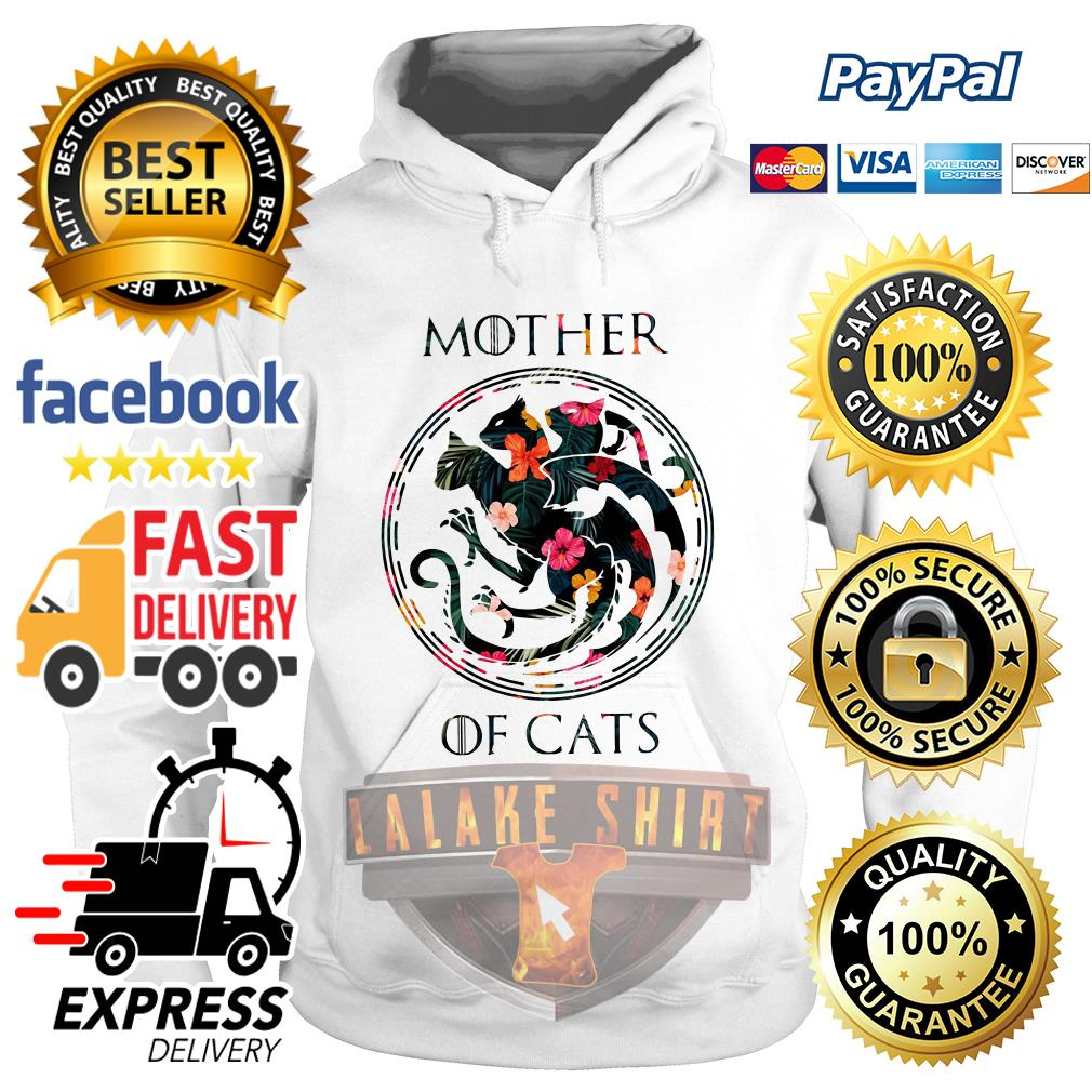 Mother of cat game of throne Hoodie