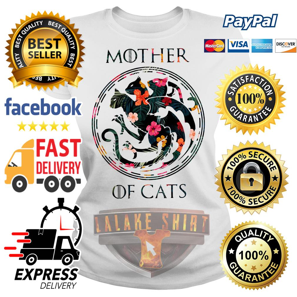 Mother of cat game of throne Ladies tee