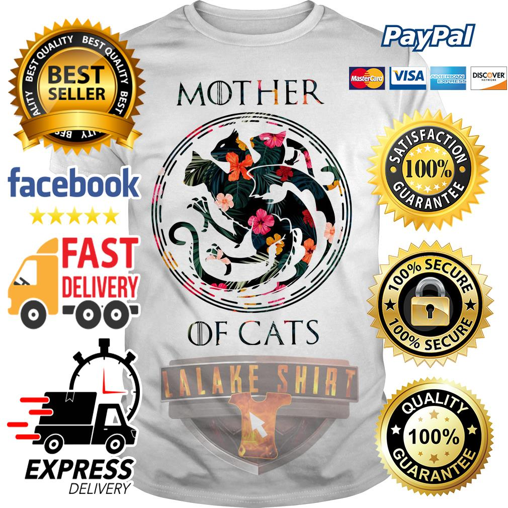 Mother of cat game of throne shirt