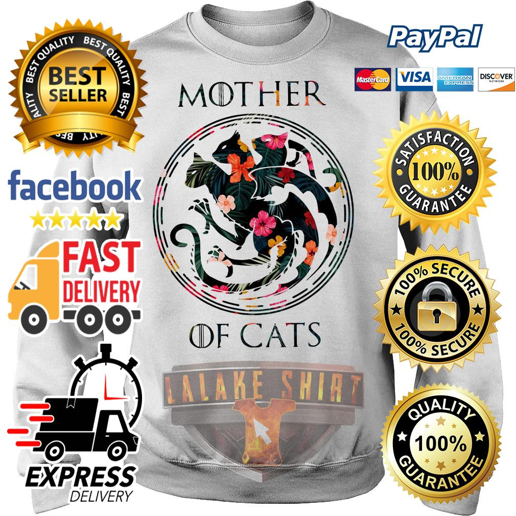Mother of cat game of throne Sweater
